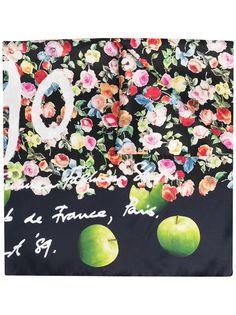 PAUL SMITH платок с цветочным принтом