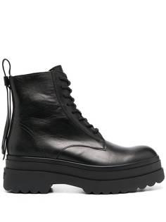 RED(V) ботинки Lyered в стиле милитари