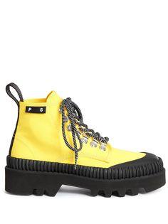 Proenza Schouler ботинки на шнуровке