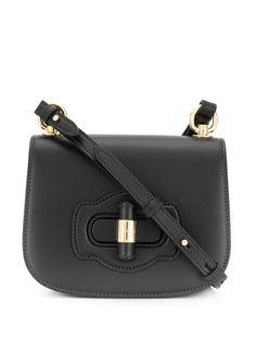 Prada сумка на плечо с поворотным замком