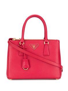 Prada сумка-тоут Galleria из сафьяновой кожи