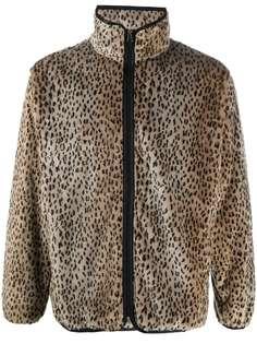 Needles куртка из искусственного меха с леопардовым принтом