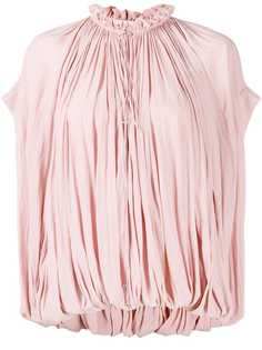LANVIN блузка с оборками на воротнике