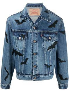 Levis джинсовая куртка Bat