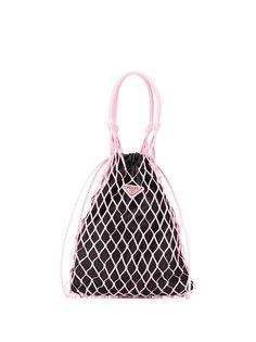 Prada сетчатая сумка-ведро