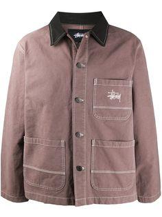 Stussy куртка на пуговицах