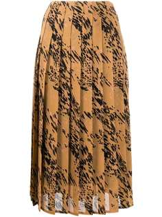 Calvin Klein плиссированная юбка миди