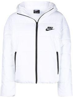 Nike пуховик с логотипом