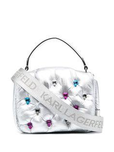 Karl Lagerfeld дутая сумка-тоут K/Ikonik 3D