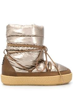 Isabel Marant дутые ботинки на шнуровке