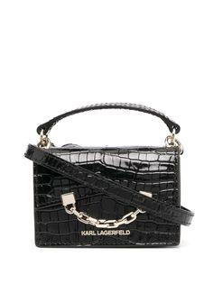Karl Lagerfeld мини-сумка с цепочкой