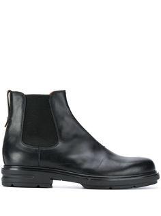 Ermenegildo Zegna ботинки челси с миндалевидным носком
