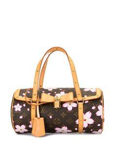 Louis Vuitton сумка Papillon 2008-го года с узором