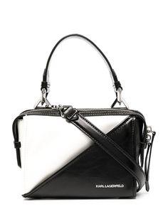 Karl Lagerfeld сумка на плечо в стиле колор-блок с логотипом
