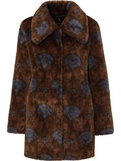 Unreal Fur шуба из искусственного меха с принтом пейсли