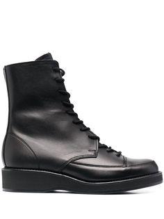 Yohji Yamamoto ботинки на шнуровке
