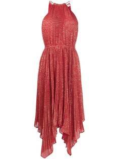 Michael Michael Kors плиссированное платье с принтом
