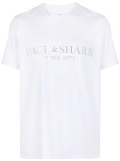 Paul & Shark футболка с логотипом