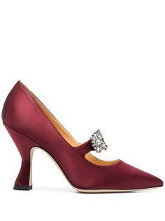 Giannico туфли-лодочки Penelope с пряжками