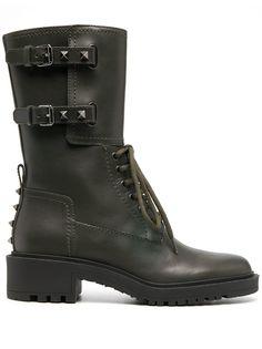 Valentino Garavani ботинки на шнуровке