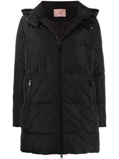 Twin-Set декорированная куртка-пуховик