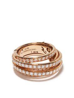 De Grisogono кольцо из розового золота с бриллиантами
