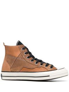 Converse высокие кеды с контрастной шнуровкой