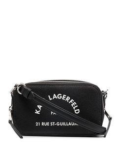 Karl Lagerfeld каркасная сумка Rue St-Guillaume