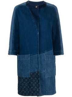 Louis Vuitton джинсовое пальто 2010-го года в технике пэчворк