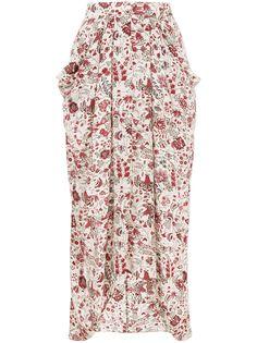 Isabel Marant юбка Ginkinali с цветочным принтом