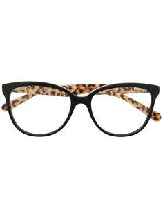 Love Moschino очки в глянцевой оправе кошачий глаз