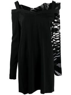 Just Cavalli платье мини асимметричного кроя