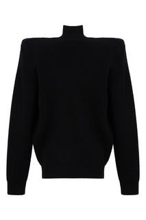 Черный свитер оверсайз из шерсти Balenciaga