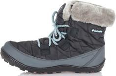 Ботинки утепленные для девочек Columbia Youth Minx, размер 34.5