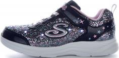 Кроссовки для девочек Skechers S Lights: Glimmer Kicks - Glitter N Glow, размер 29