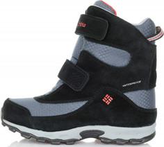 Ботинки утепленные для мальчиков Columbia Childrens Parkers Peak Velcro, размер 34.5