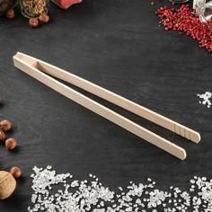 Щипцы кухонные, 30 см, массив бука Доброе дерево
