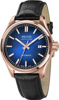 Швейцарские мужские часы в коллекции Passion Мужские часы Epos 3501.132.24.16.25