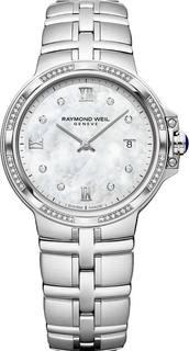 Швейцарские женские часы в коллекции Parsifal Женские часы Raymond Weil 5180-STS-00995