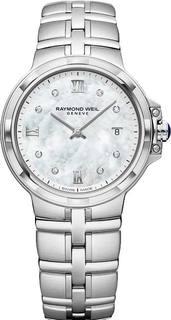 Швейцарские женские часы в коллекции Parsifal Женские часы Raymond Weil 5180-ST-00995