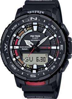 Японские мужские часы в коллекции Pro Trek Мужские часы Casio PRT-B70-1ER