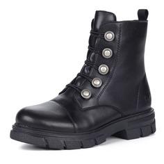 Ботинки Черные ботинки из экокожи с пряжками Rieker