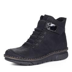 Ботинки Черные ботинки из экокожи Rieker