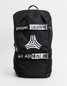 Черный рюкзак с логотипом adidas Football