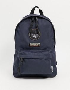 Темно-синий рюкзак Napapijri Voyage Mini 2-Голубой