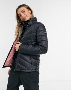 Лыжная куртка черного цвета Roxy Sunset-Черный