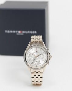 Серебристые часы с браслетом Tommy Hilfiger Ari 1781978-Серебристый