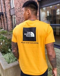 Желтая футболка с логотипом The North Face-Желтый