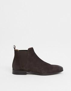 Коричневые кожаные ботинки челси ALDO curwen-Коричневый