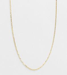 Цепочка из позолоченного стерлингового серебра Reclaimed Vintage Inspired-Золотистый